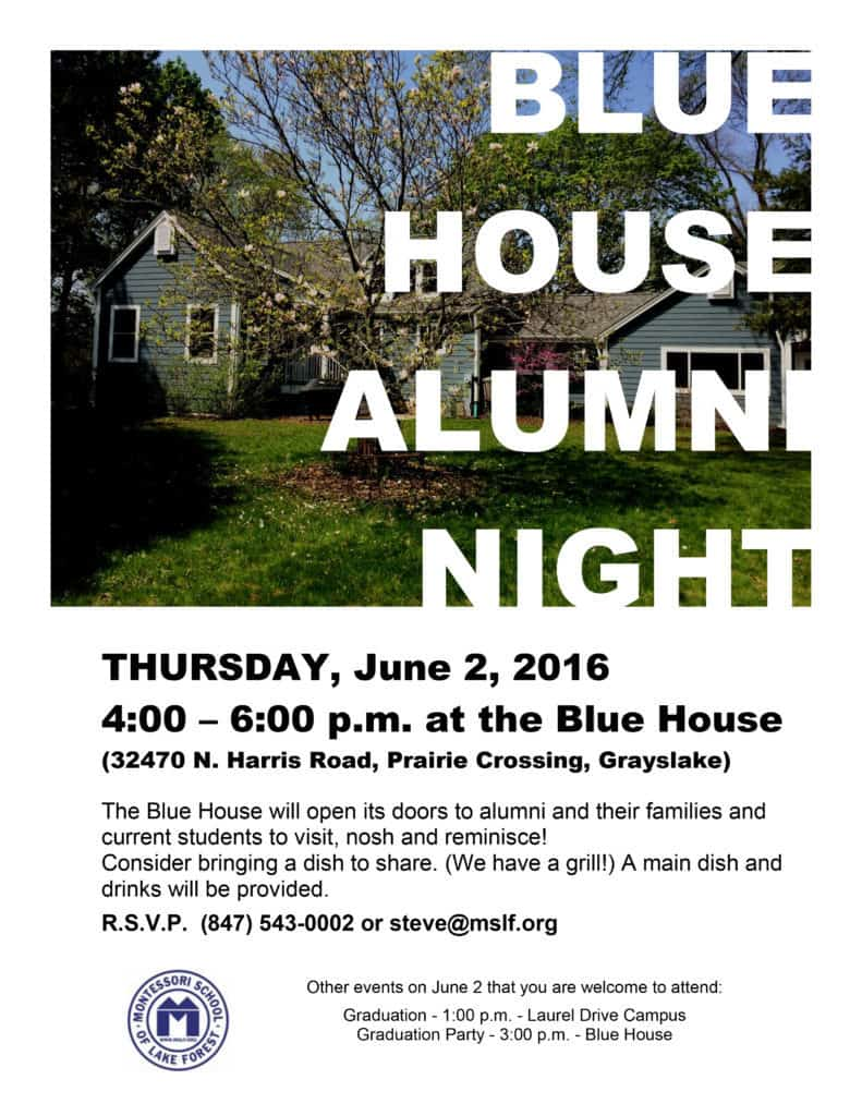 Blue House Alumni Night @ Blue House Campus  | Grayslake | Illinois | United States