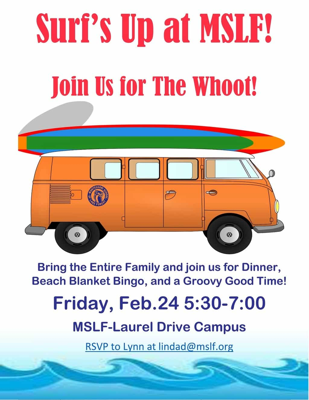 The Whoot! - Family Fun Night @ Laurel Drive Campus | Lake Forest | Illinois | United States